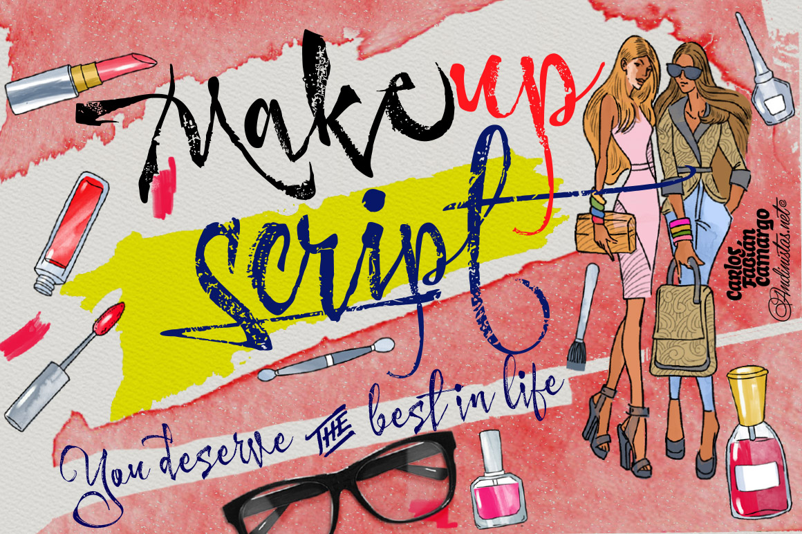 Makeup Typefamily_1